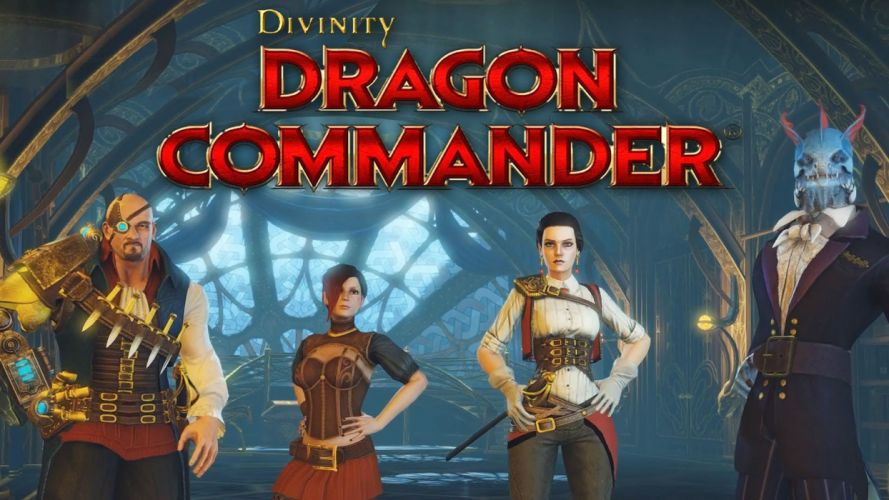 DIVINITY-DRAGON-COMMANDER strategy rpg fantasy adventure sci-fi dragon divinity commander steampunk wallpaper
