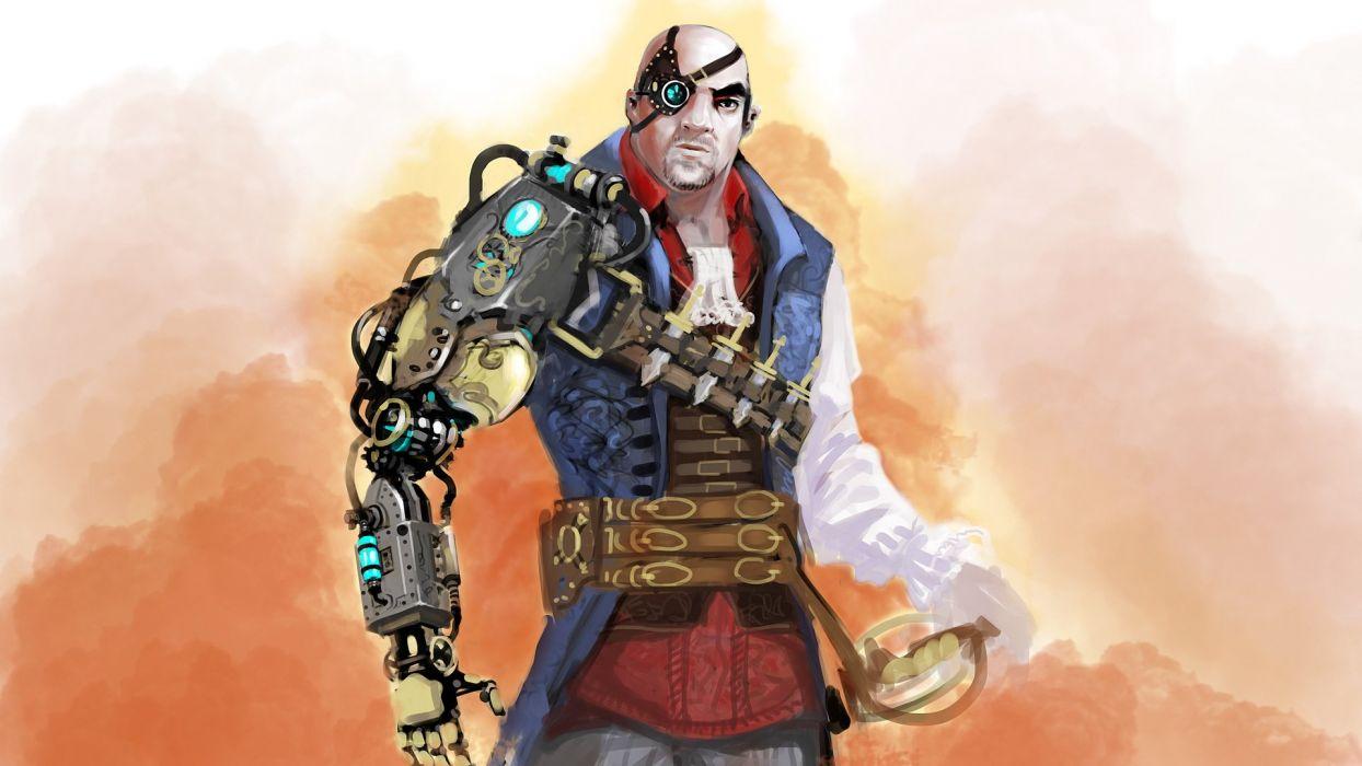 DIVINITY-DRAGON-COMMANDER strategy rpg fantasy adventure sci-fi dragon divinity commander steampunk wallpaper