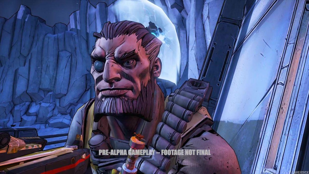 Borderlands Pre Sequel Shooter Action Rpg Sci Fi Wallpaper