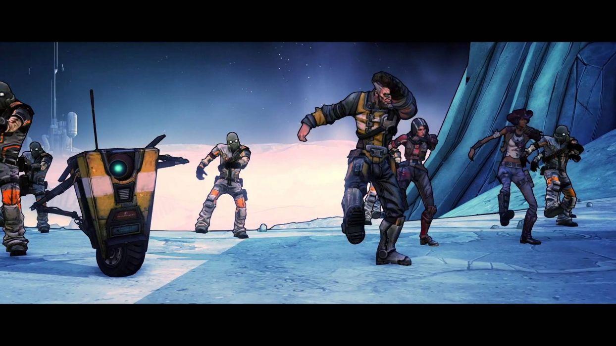 BORDERLANDS PRE-SEQUEL shooter action rpg sci-fi wallpaper