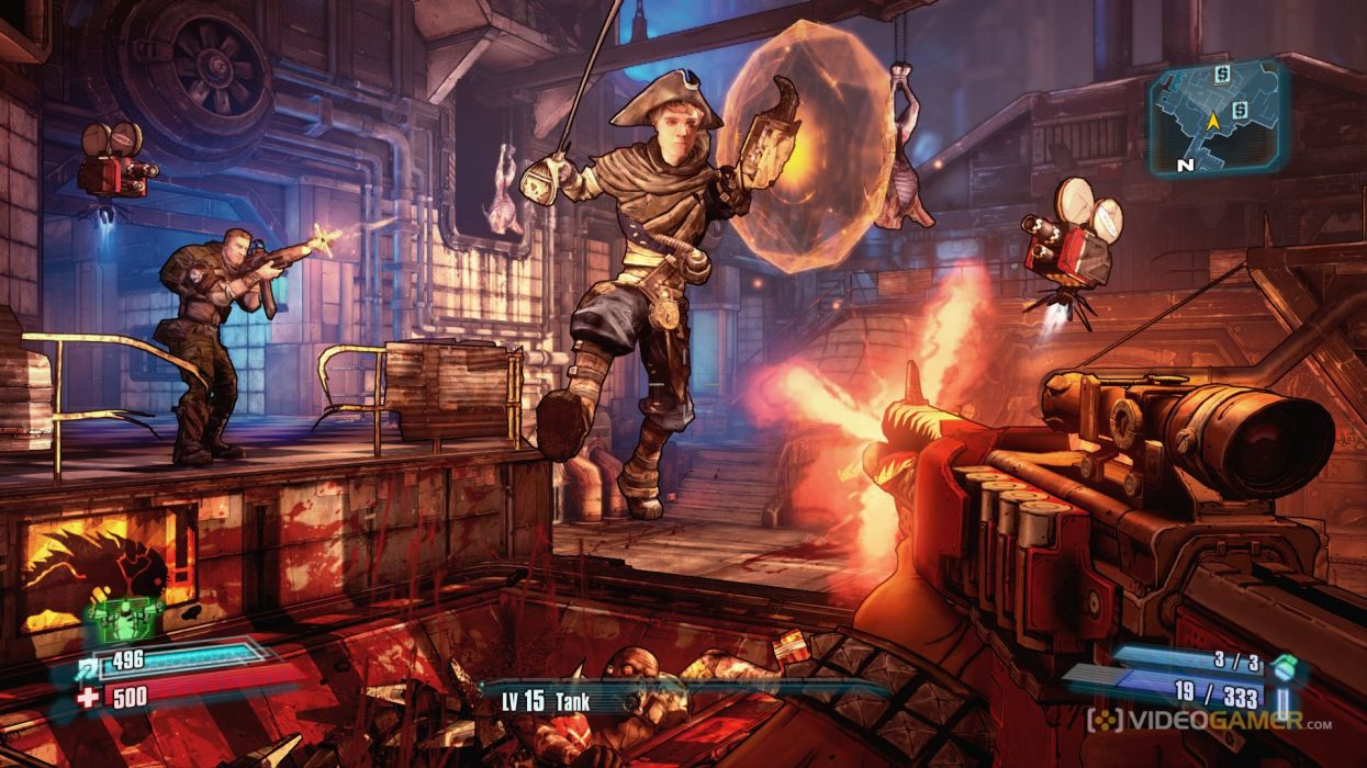 BORDERLANDS PRE-SEQUEL shooter action rpg sci-fi wallpaper