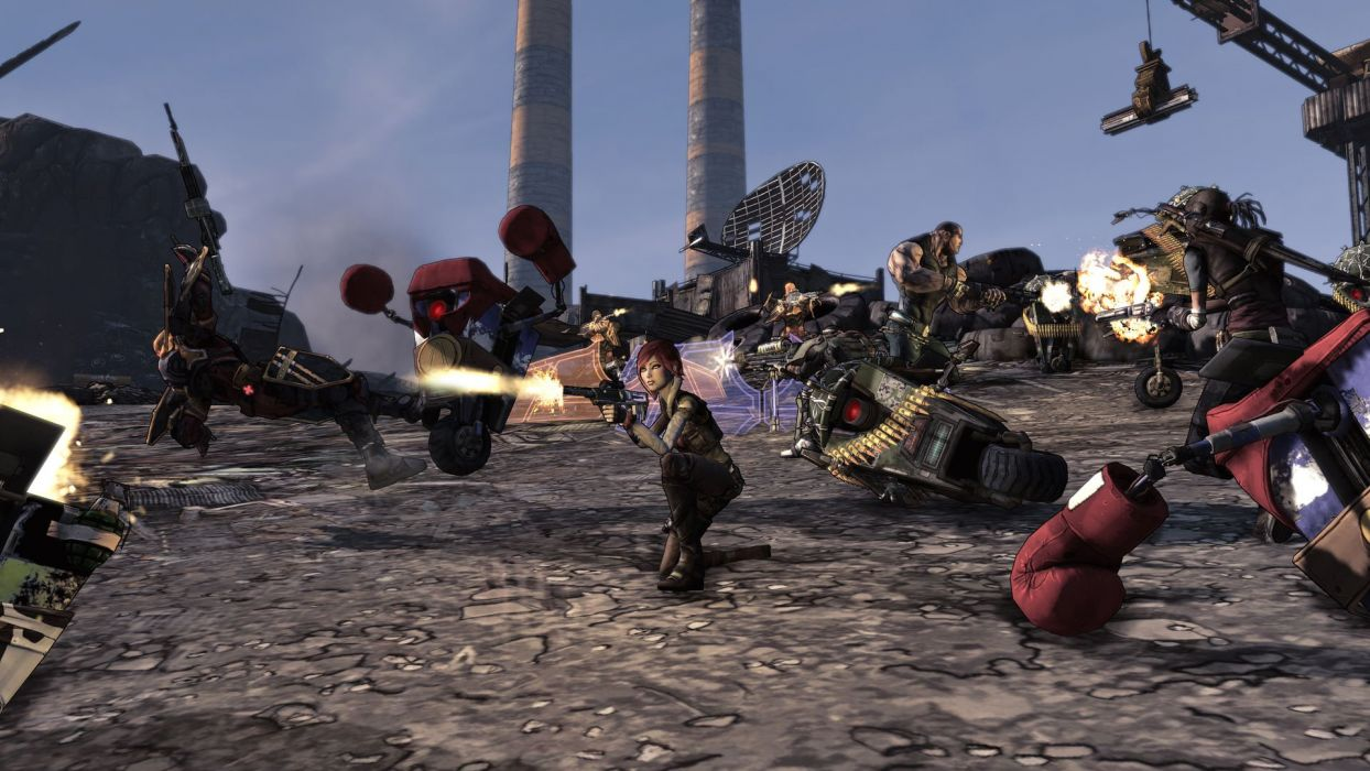 BORDERLANDS 2 Game Of The Year sci-fi action shooter rpg wallpaper