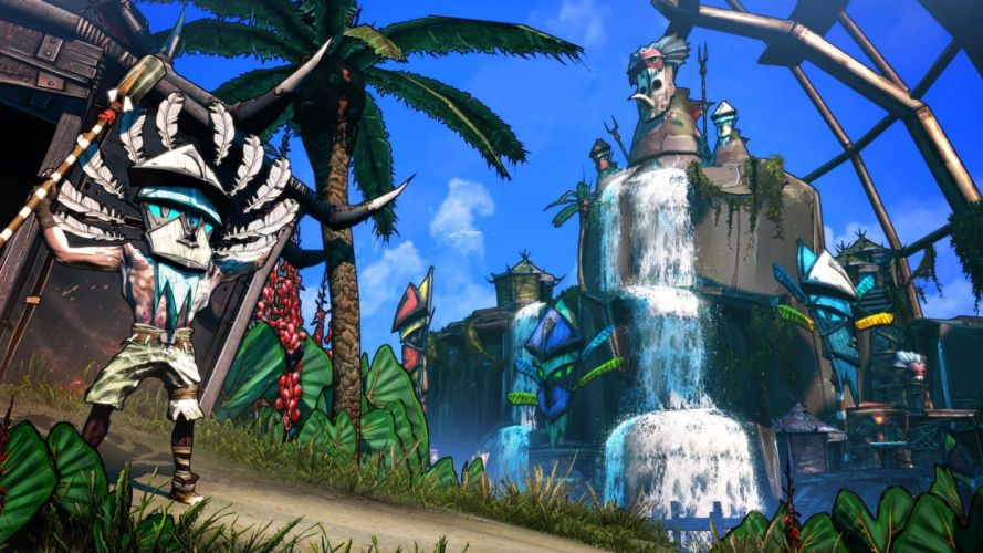 BORDERLANDS 2 HEADHUNTER shooter sci-fi action rpg fantasy wallpaper