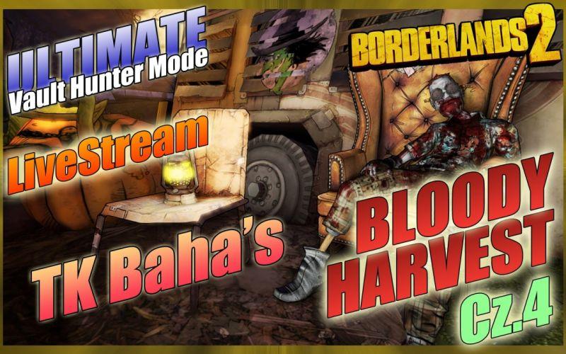 BORDERLANDS 2 Bloody Harvest shooter sci-fi action rpg fantasy wallpaper