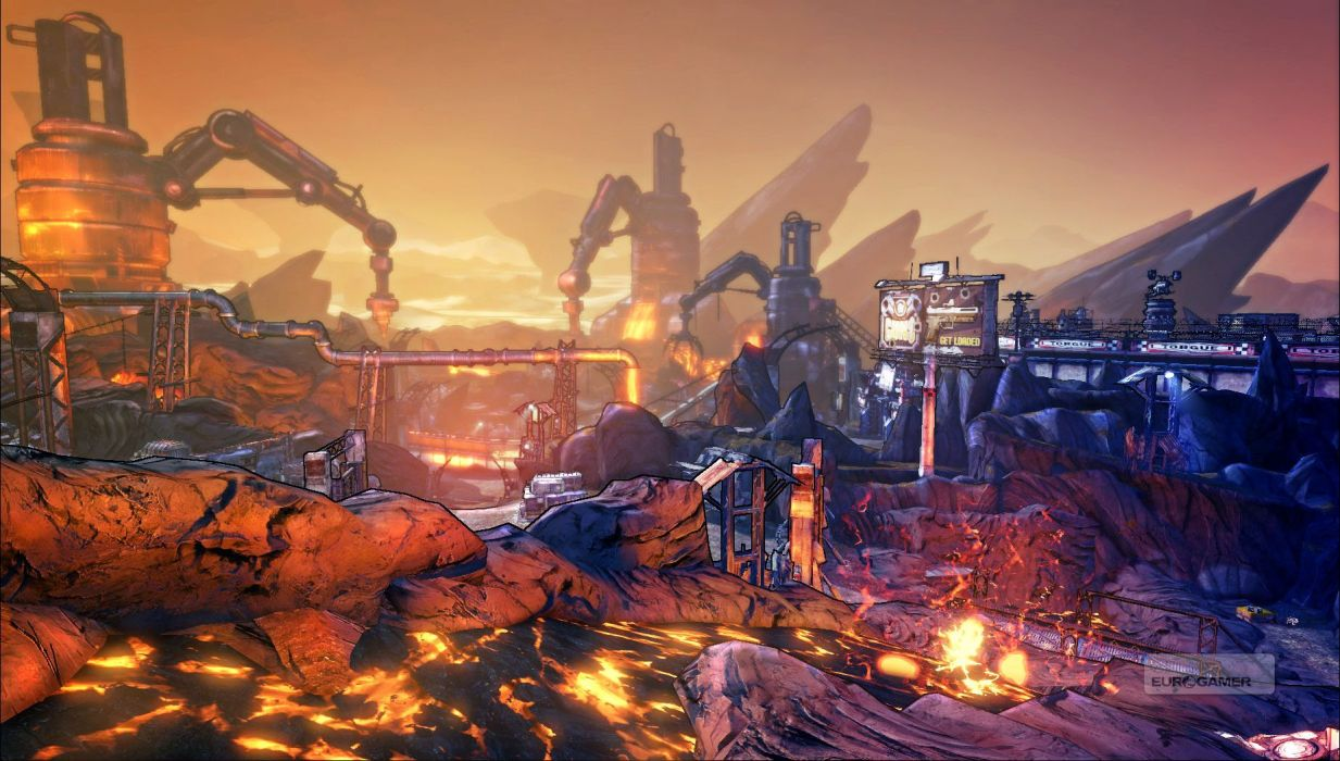 BORDERLANDS 2 Campaign of Carnage shooter sci-fi action rpg fantasy wallpaper