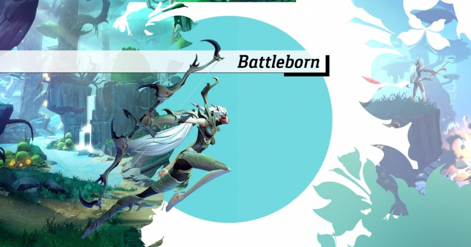 BATTLEBORN hero shooter fantasy sci-fi battle fighting rpg wallpaper