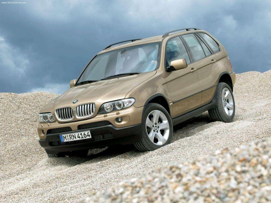 BMW X 5 44i 2004 suv wallpaper