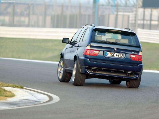 BMW X 5 4-8is 2004 suv wallpaper