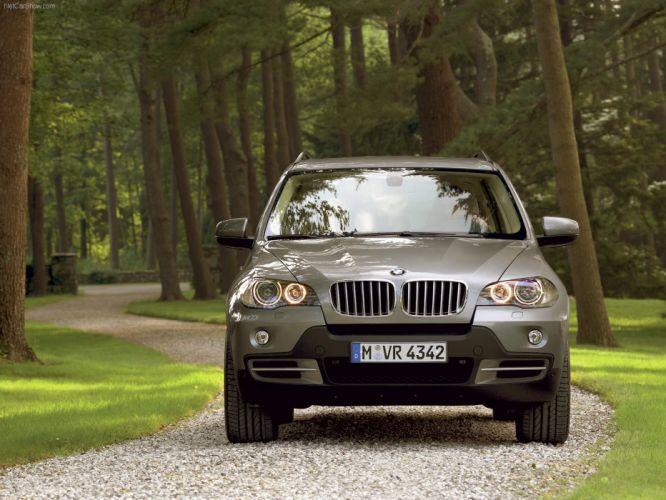 BMW X 5 4-8i 2007 suv wallpaper