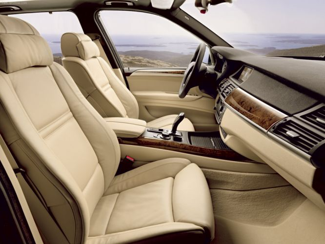 BMW X 5 4-8i 2007 suv interior wallpaper