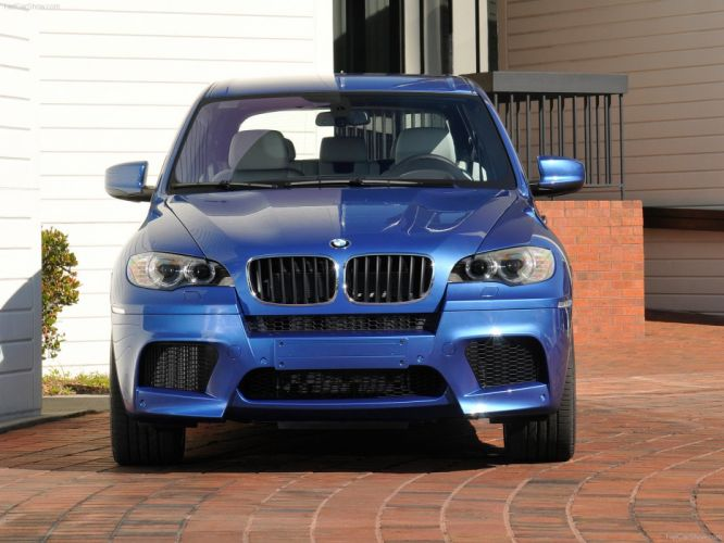 BMW X5 M 2010 suv wallpaper
