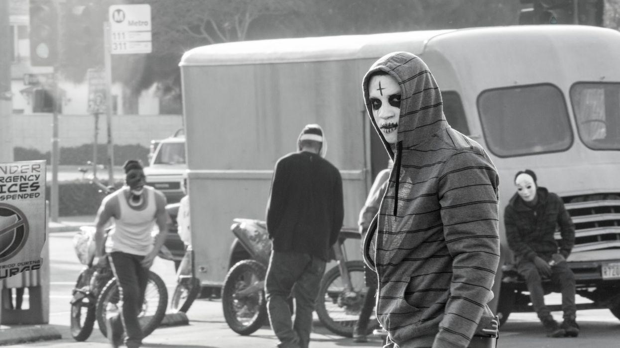 THE-PURGE-ANARCHY horror sci-fi thriller dark purge anarchy wallpaper