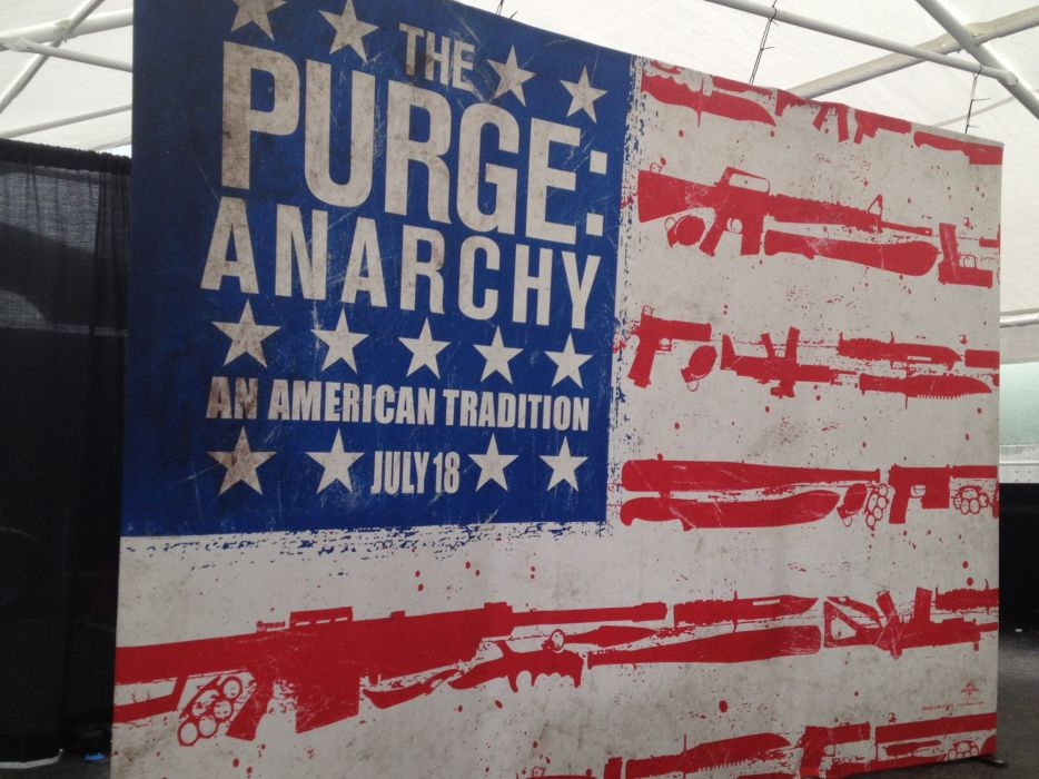 THE-PURGE-ANARCHY horror sci-fi thriller dark purge anarchy wallpaper