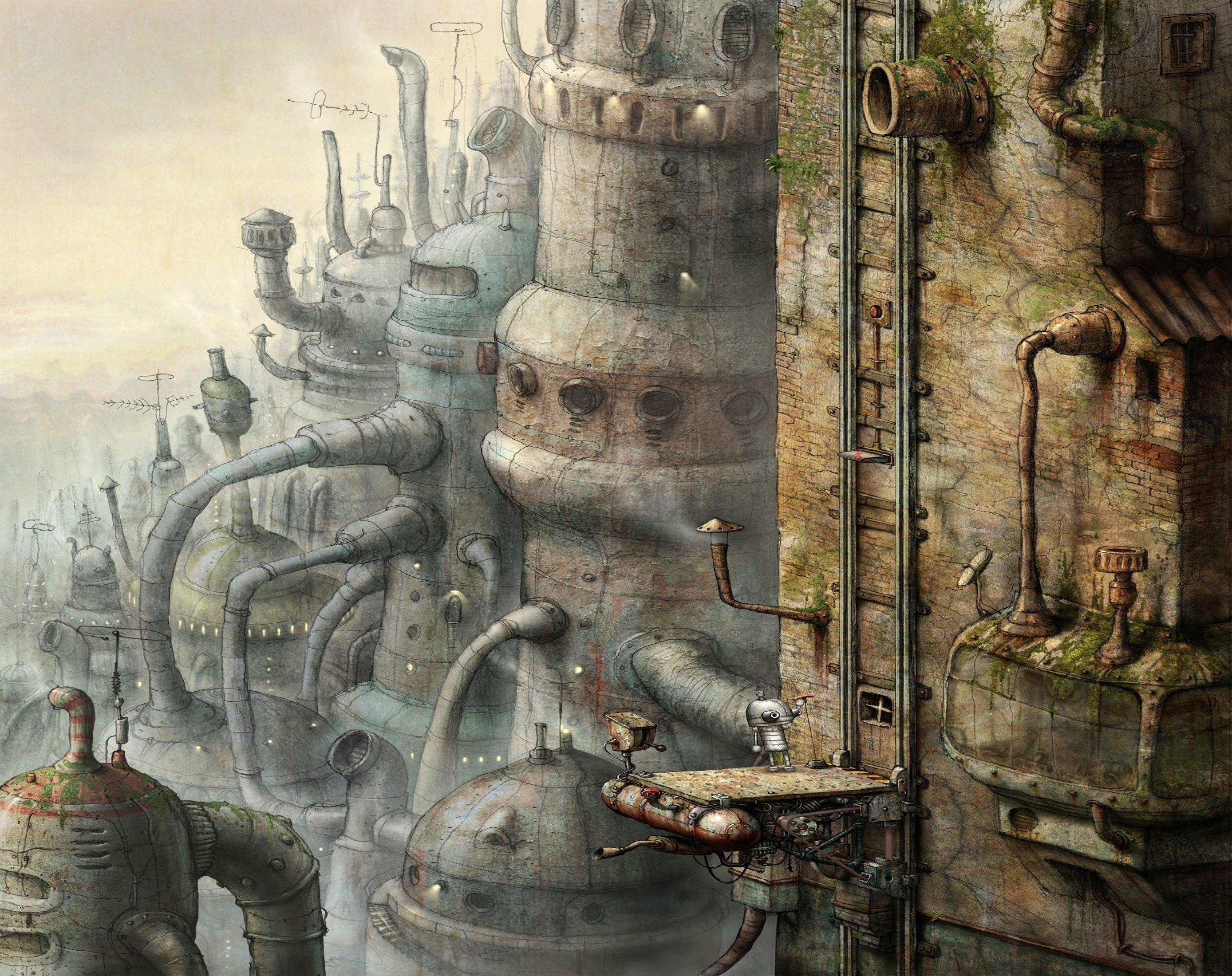 MACHINARIUM Puzzle Point-and-click Adventure Sci-fi Robot