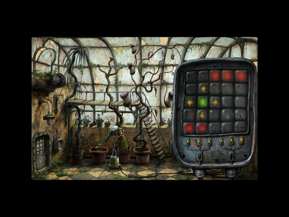 MACHINARIUM puzzle point-and-click adventure sci-fi robot steampunk graphic family wallpaper