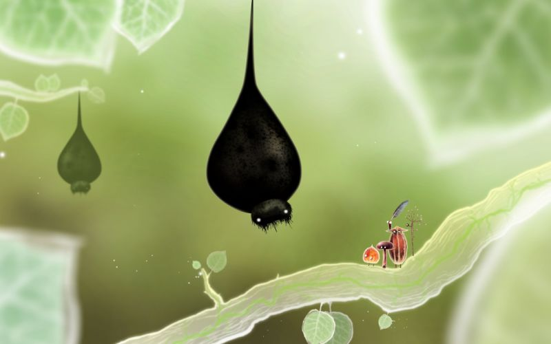 BOTANICULA point-and-click adventure graphic fantasy family bokeh wallpaper