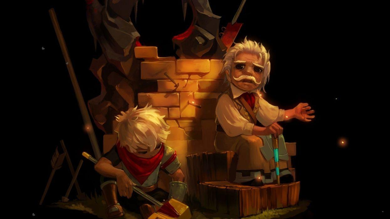 BASTION action rpg fantasy family wallpaper