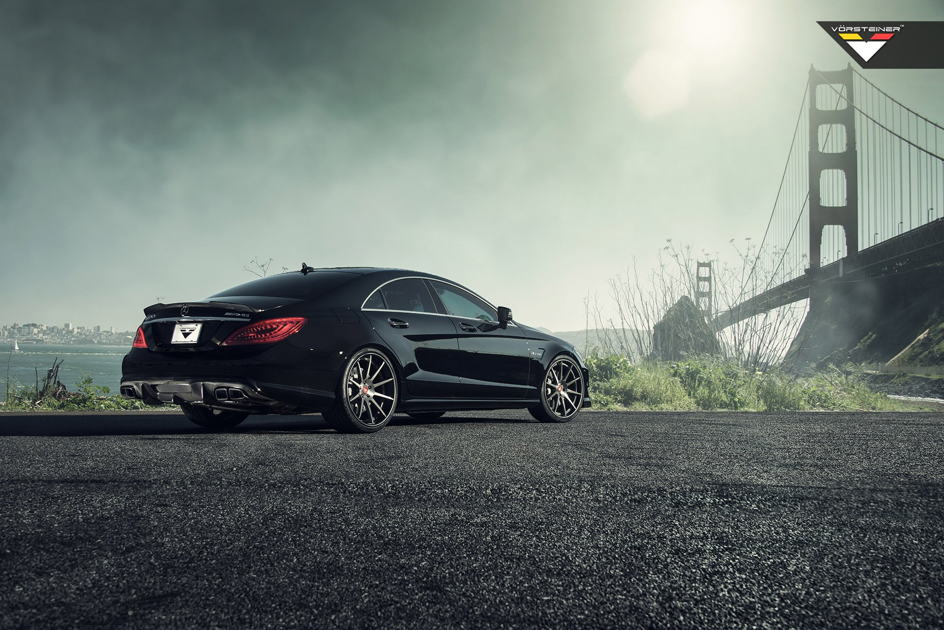 vorsteiner mercedes benz cls63 amg wheels tuning wallpaper. Black Bedroom Furniture Sets. Home Design Ideas