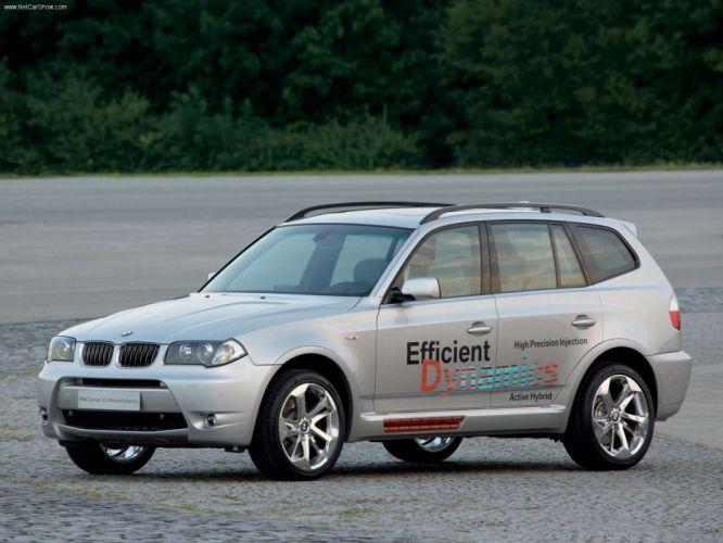 BMW X3 EfficientDynamics Concept 2005 wallpaper