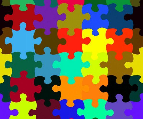 Puzzle Pieces wallpaper