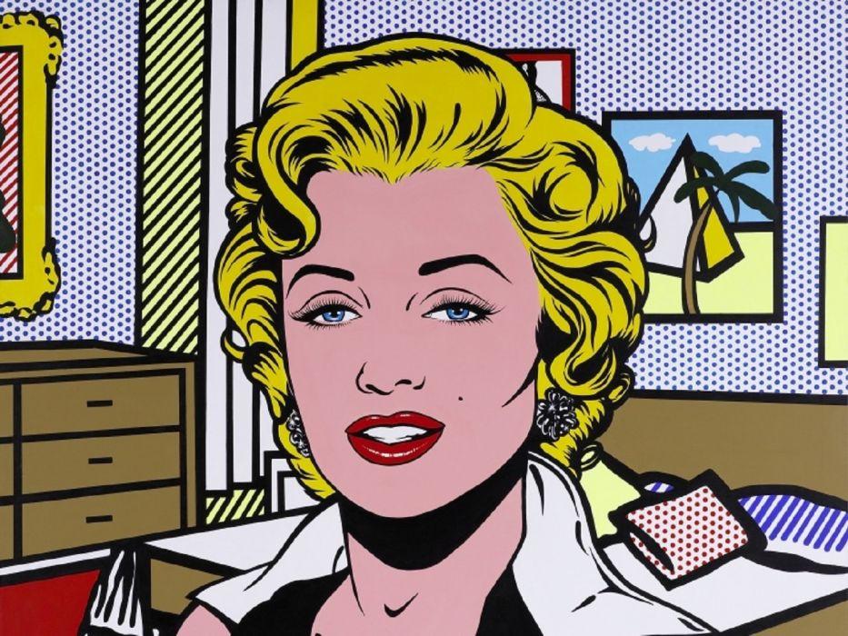 Marilyn Monroe Pinup wallpaper