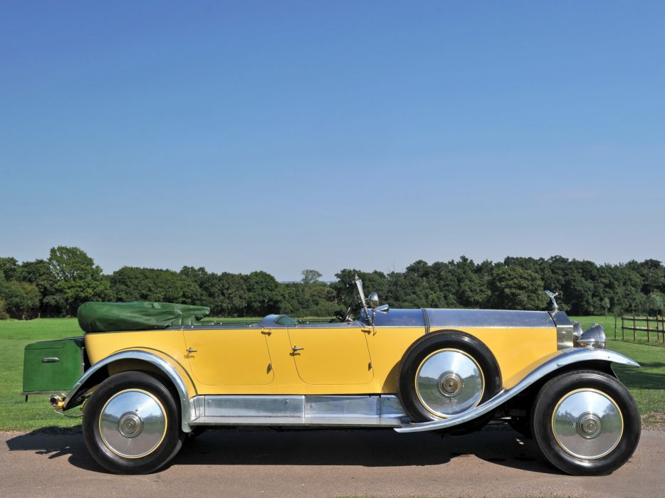 1929 Rolls Royce Phantom I Tourer Barker retro convertible luxury r wallpaper