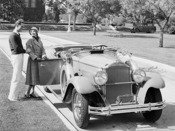 1931 Packard Standard Eight Roadster (833-462) convertible retro luxury d wallpaper