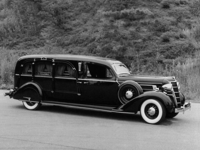 1935 Miller Chrysler DeLuxe Airstream Funeral Coach (C-Z) hearse stationwagon retro h wallpaper