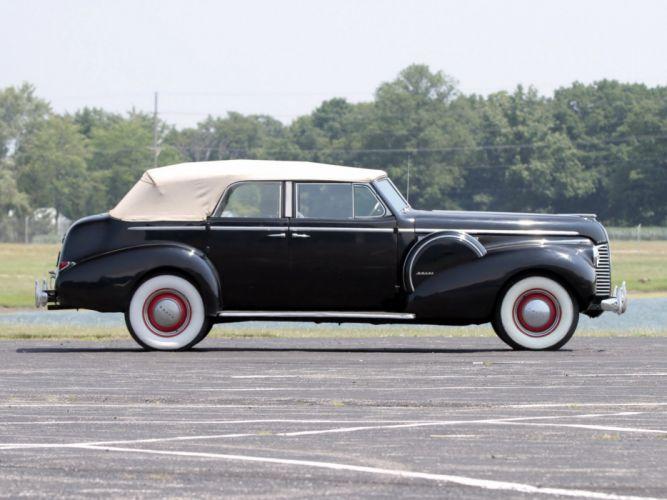 1940 Buick Limited Fastback Convertible Phaeton (81DA) retro luxury ew wallpaper