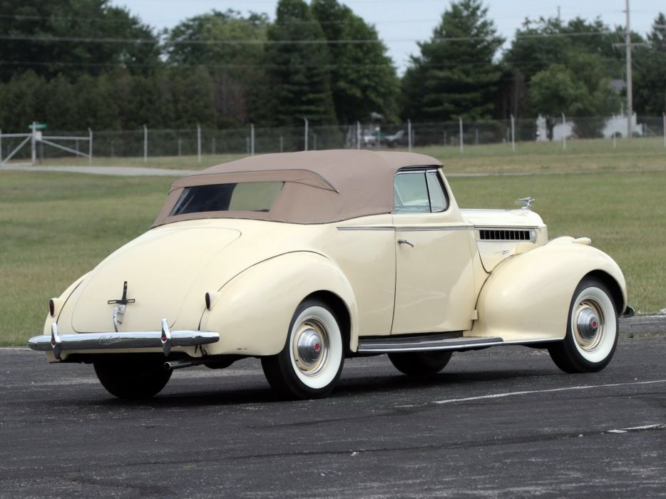 1940 Packard 120 Convertible Coupe (1801-1399) retro luxury eh wallpaper