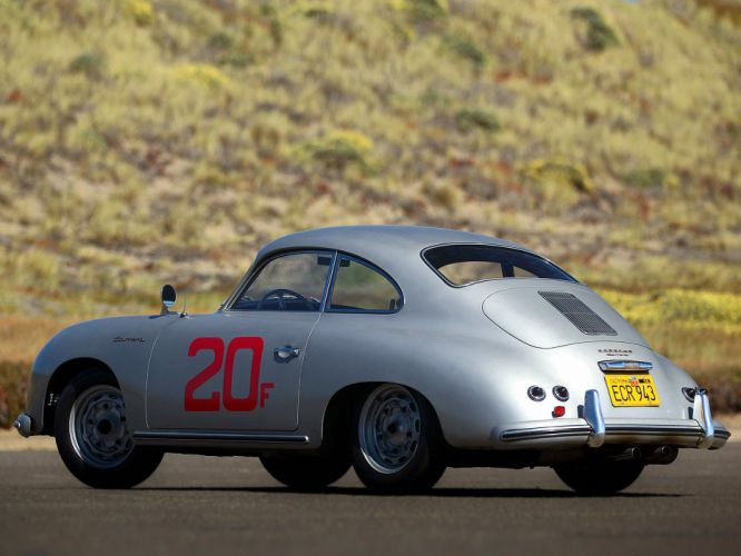 1955-57 Porsche 356A Carrera Coupe (T1) retro 356 race racing d wallpaper