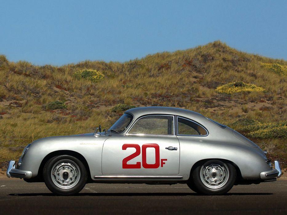 1955-57 Porsche 356A Carrera Coupe (T1) retro 356 race racing d wallpaper