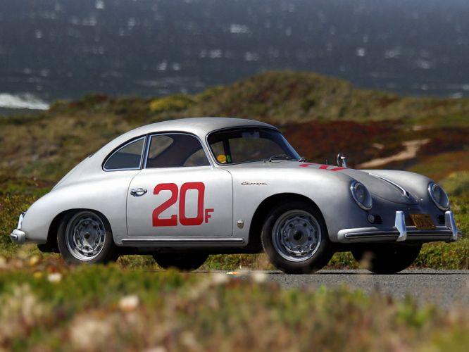 1955-57 Porsche 356A Carrera Coupe (T1) retro 356 race racing f wallpaper
