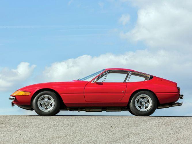 1968-71 Ferrari 365 GTB-4 Daytona UK-spec supercar classic f wallpaper