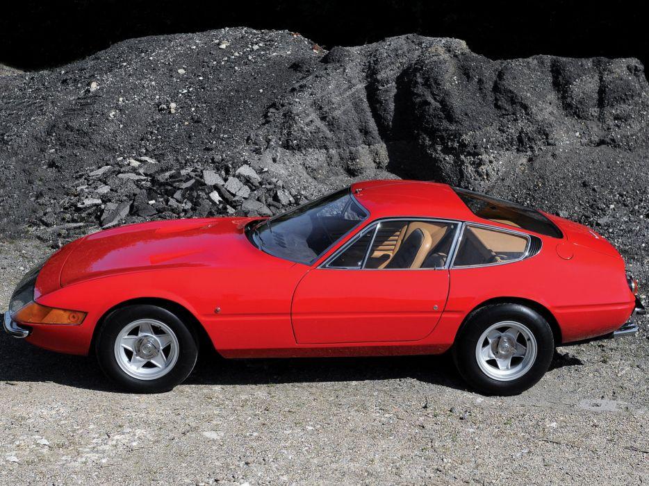1968-71 Ferrari 365 GTB-4 Daytona UK-spec supercar classic ff wallpaper