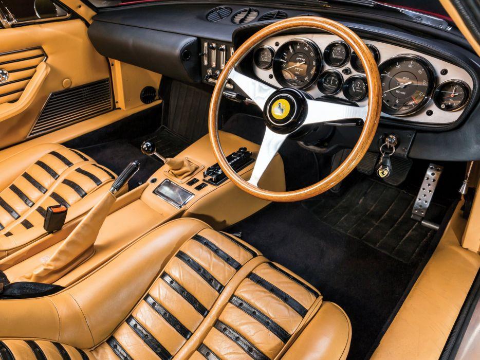 1968-71 Ferrari 365 GTB-4 Daytona UK-spec supercar classic t wallpaper