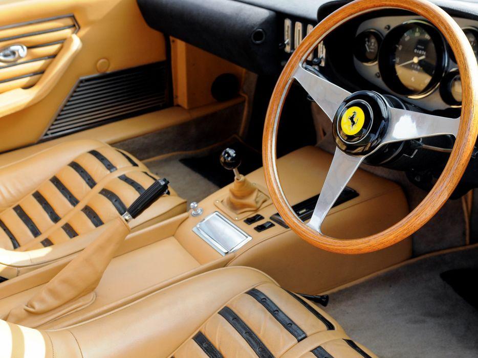 1968-71 Ferrari 365 GTB-4 Daytona UK-spec supercar classic c wallpaper