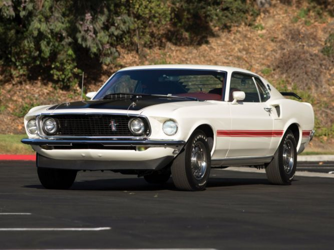 1969 Ford Mustang Mach-1 428 Cobra Jet (63C) muscle classic f wallpaper
