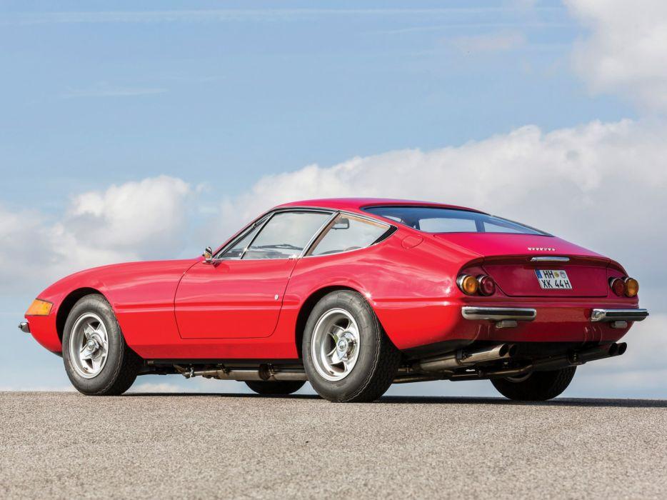 1968-71 Ferrari 365 GTB-4 Daytona UK-spec supercar classic g wallpaper