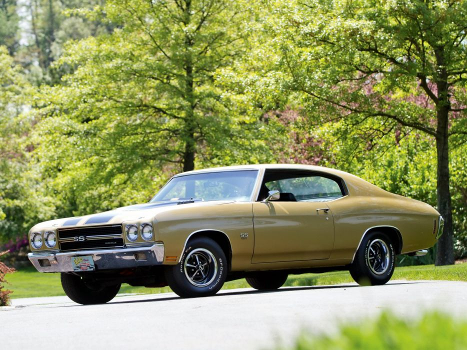 1970 Chevrolet Chevelle S-S 454 Hardtop Coupe muscle classic f wallpaper