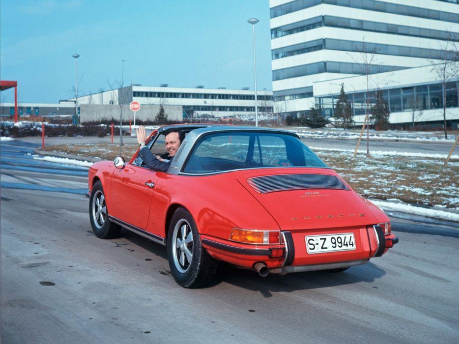 1970 Porsche 911-T Targa (911) classic d wallpaper