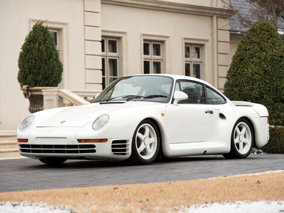 1985 Porsche 959 Prototyp supercar d wallpaper