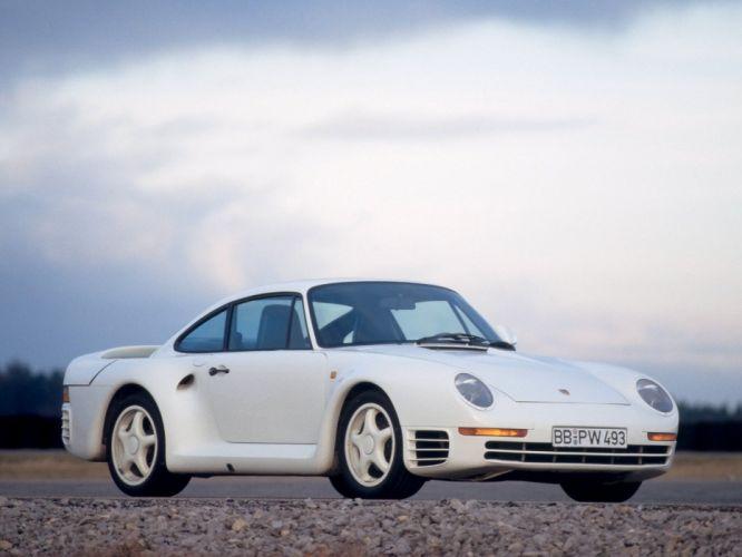 1985 Porsche 959 Vorserie supercar f wallpaper