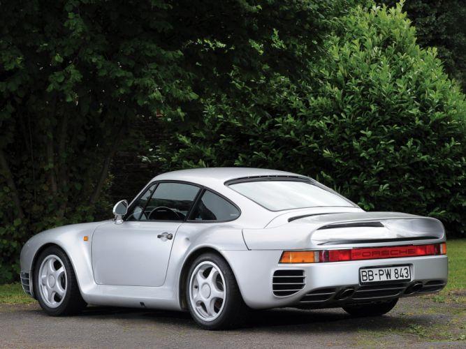 1985 Porsche 959 Vorserie supercar r wallpaper