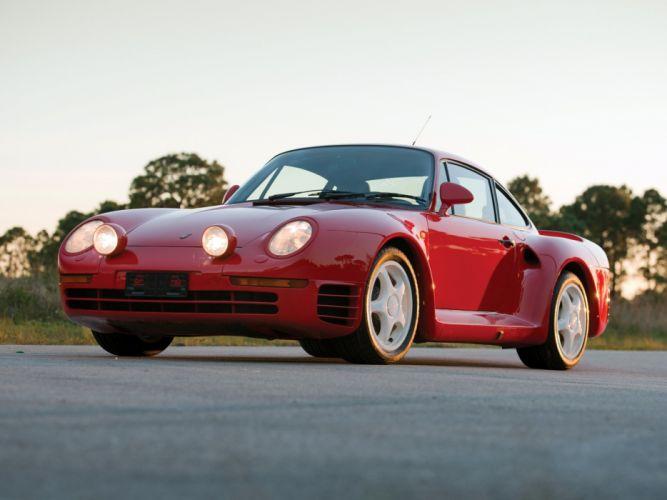 1985 Porsche 959 Vorserie supercar e wallpaper