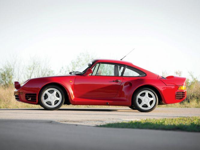 1985 Porsche 959 Vorserie supercar d wallpaper