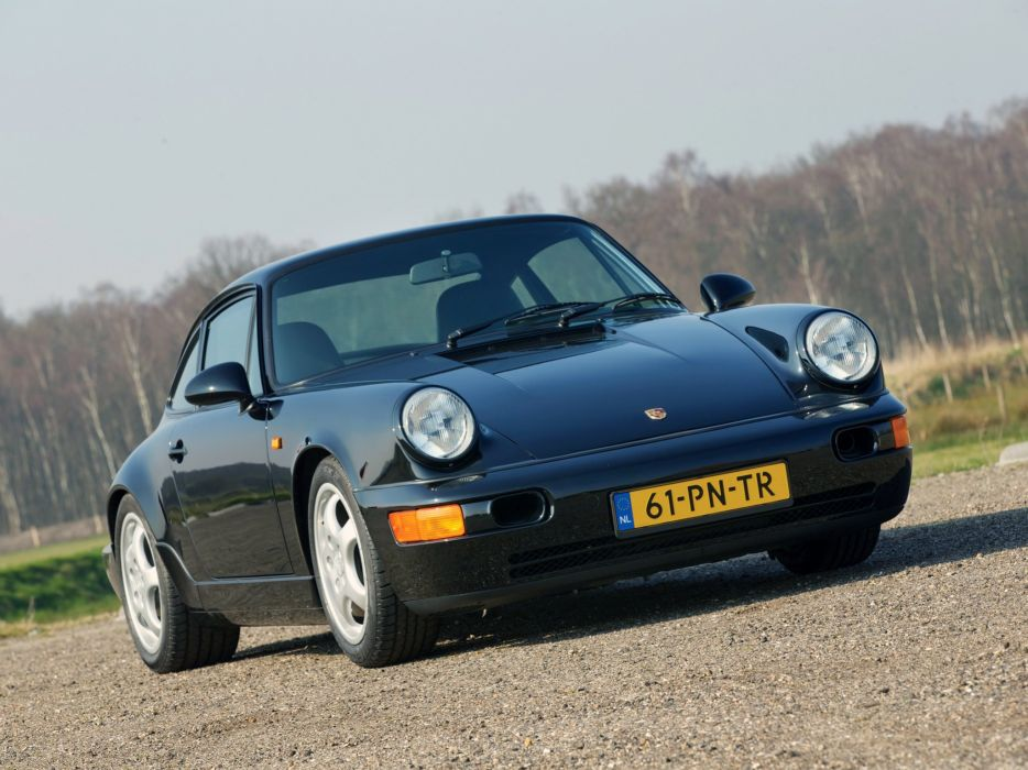 1991 Porsche 911 Carrera R-S Leichtbau (964) d wallpaper