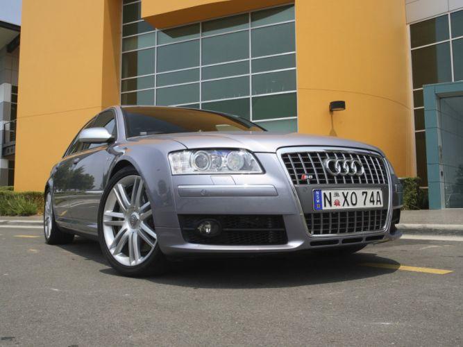 2007 Audi S-8 AU-spec (D3) f wallpaper
