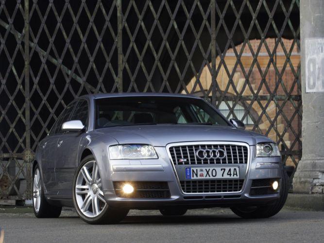 2007 Audi S-8 AU-spec (D3) d wallpaper