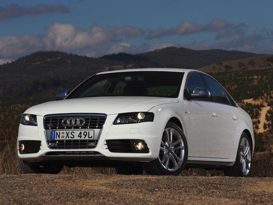 2009 Audi S-4 Sedan AU-spec (B8-8K) fs wallpaper